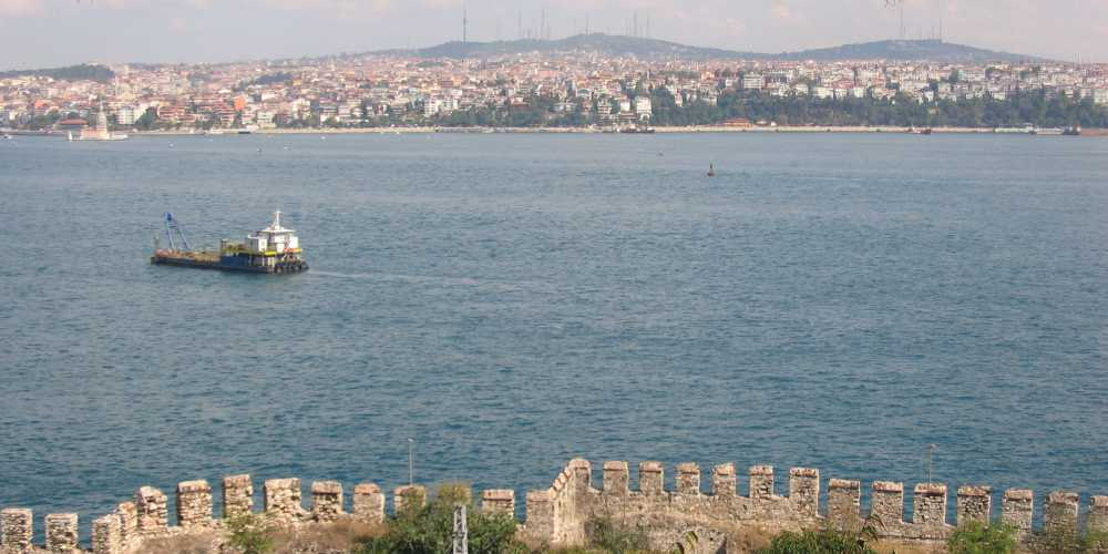 Стамбул. Босфор.