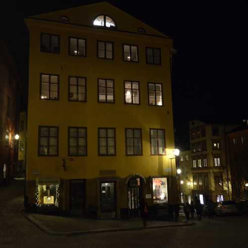 Стокгольм.