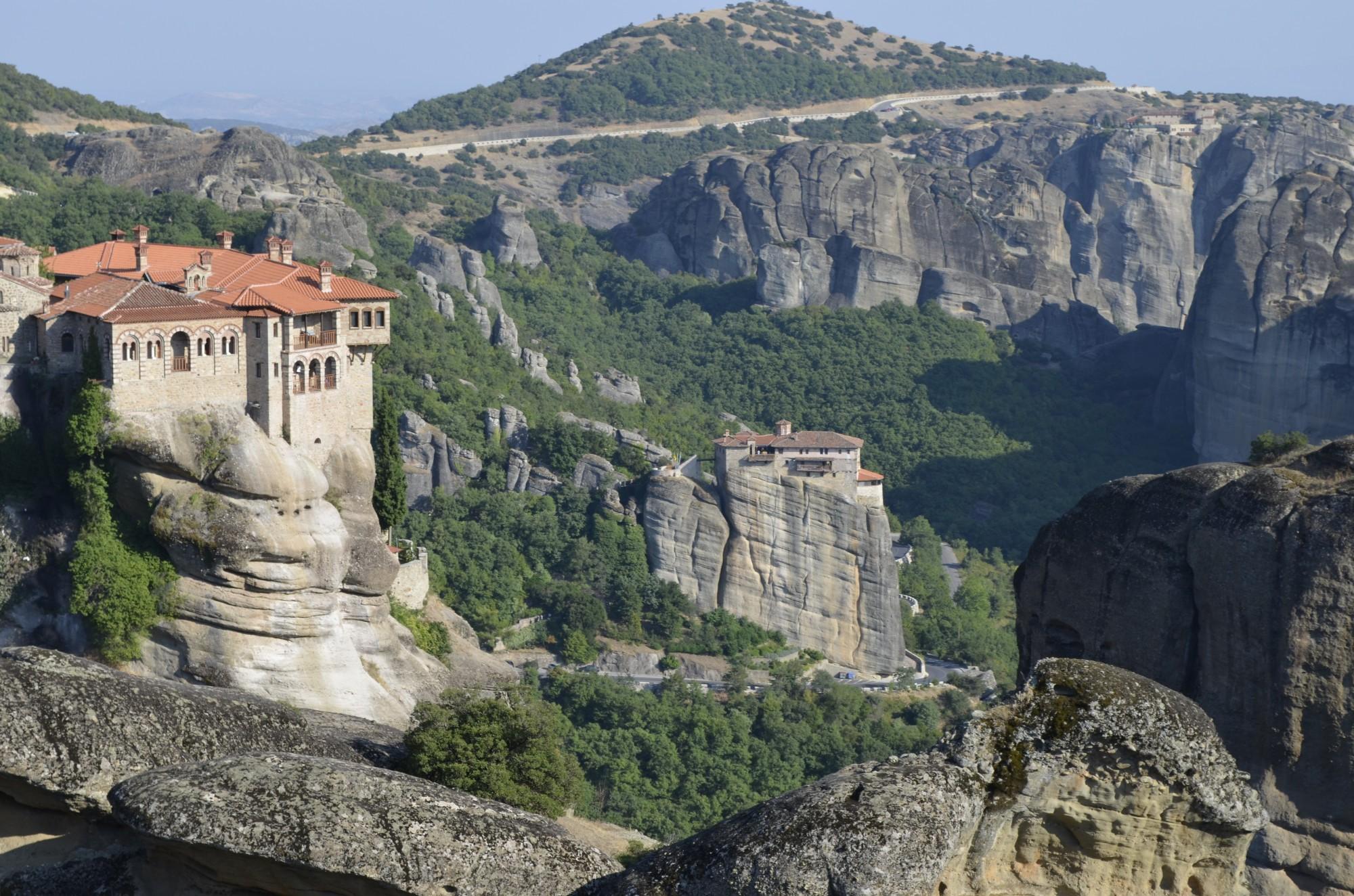 святые греческие метеоры фото нужно учитывать