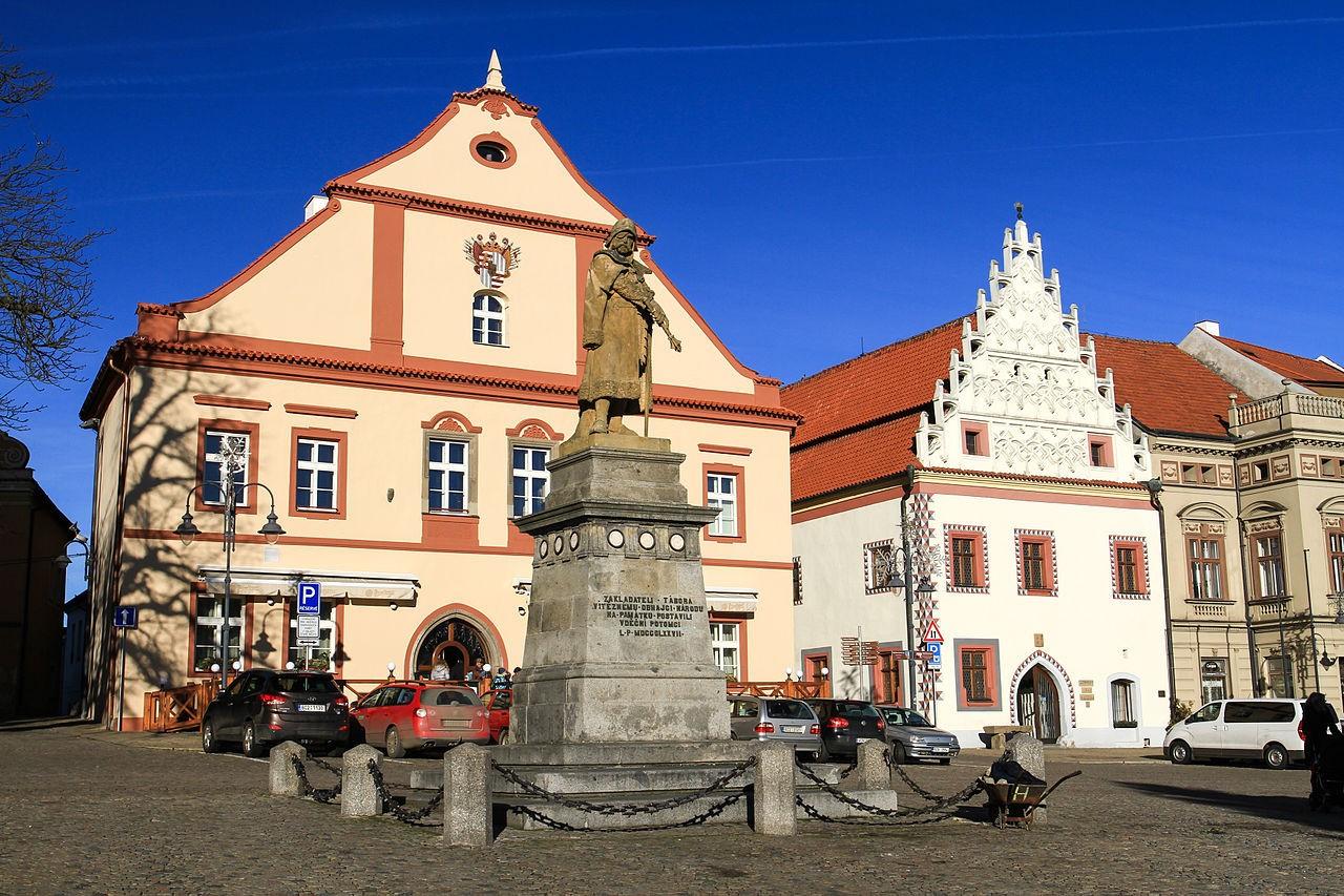 своеобразные табор город в чехии фото простая конструкция, минимум