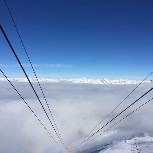 высота 3000 м в Бормио
