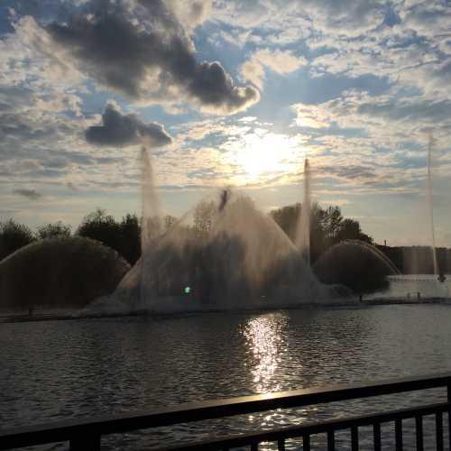 Винницкий фонтан Roshen, Ukraine