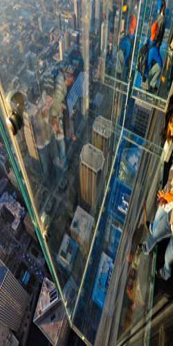 Willis Tower Skydeck, South Wacker Drive, Chicago, IL, United States, United States