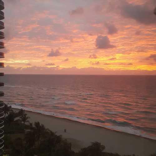Рассвет над Атлантикой. Майами