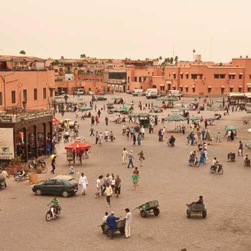 Площадь Джама-Эль-Фна, Morocco