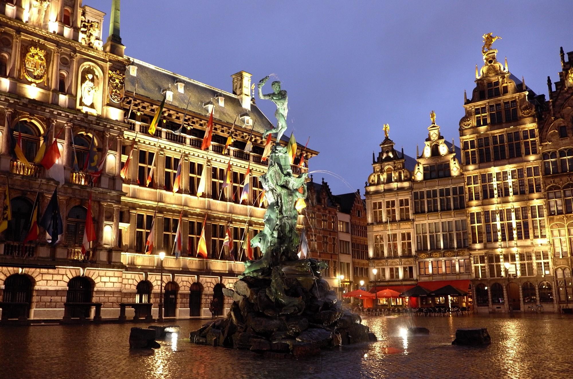 Новогоднее путешествие по Бельгии!