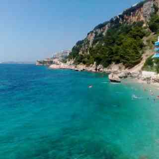 Пляж отеля Нимфа.