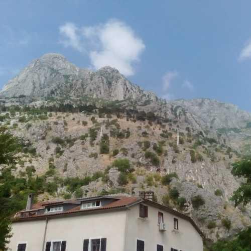 Горы Монтенегро.