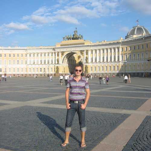 Дворцовая площадь, Россия
