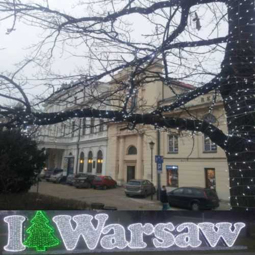 Warszawa Krakowskie Przedmiescie.