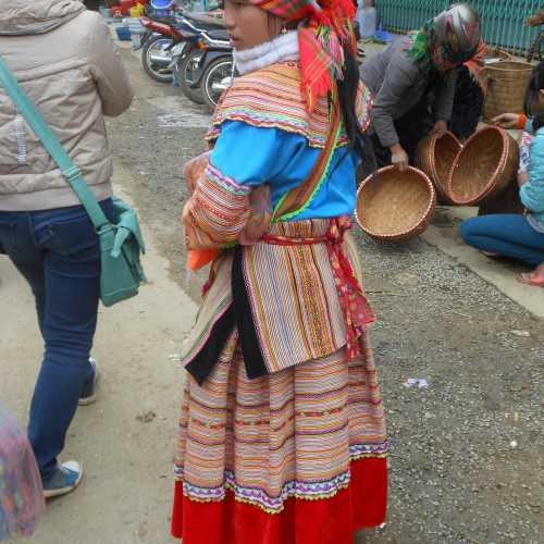 Вьетнам, БАХМА, посещение самого колоритного воскресного рынка севера страны, где собираются представители многих национальностей, 30 декабря 2012 года