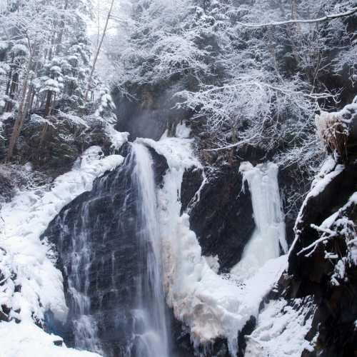 Водопад Гук (Женецкий водопад), Ukraine