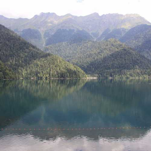 the Ritsa Lake