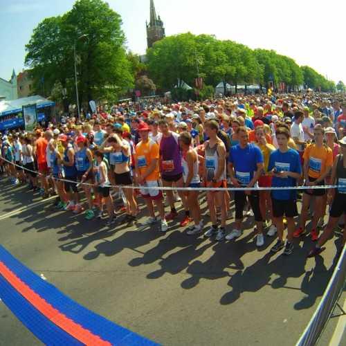 Старт Рижского марафона