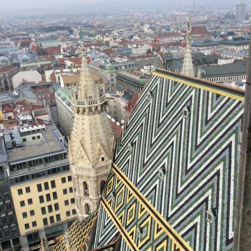 Вид со смотровой площадки собора св.Штефана
