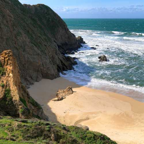 Gray Whale Cove State Beach, United States