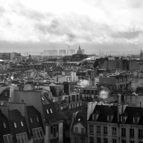 Париж. Вид с Пампиду.