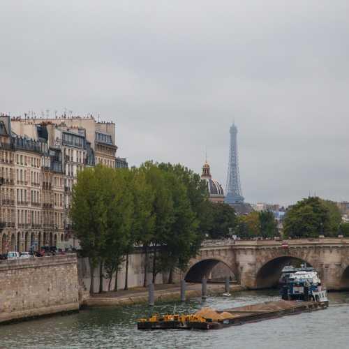 Париж, р. Сена.
