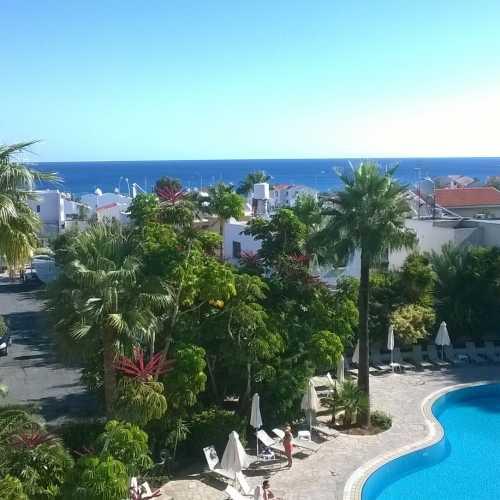 Вид из отеля, Протарас