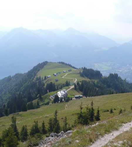 путь на гору Шафберг