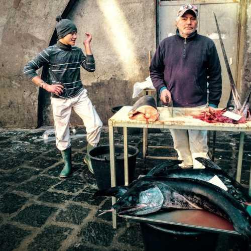 Рыбный рынок в Катанье