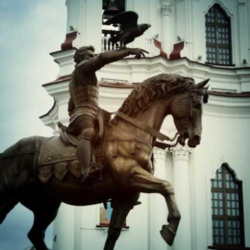 Prince Olgerd monument, Belarus