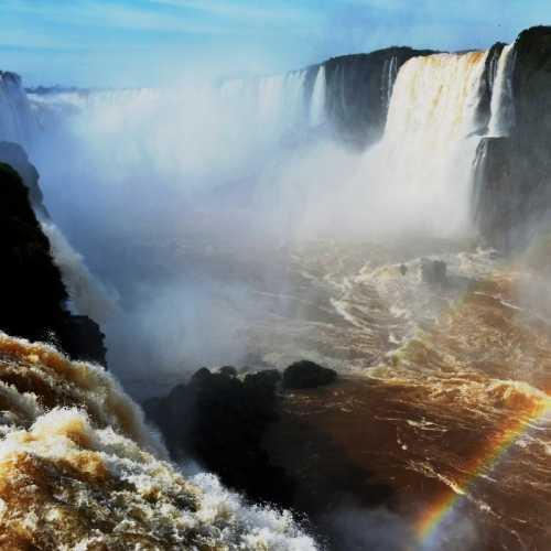 Водопад Игуасу. Глотка дьявола