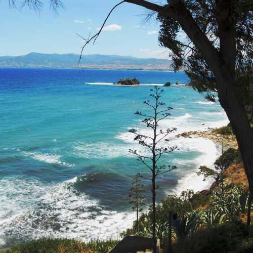 Полуостров Акамас. Рядом с купальней Афродиты