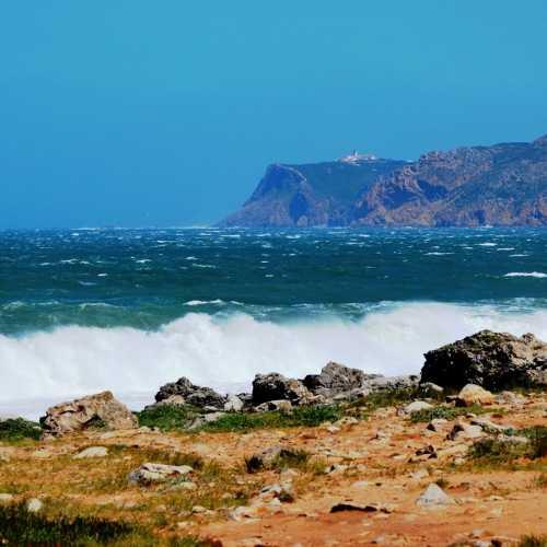 Мыс Рока (западная оконечность Европы). Вид с океана.