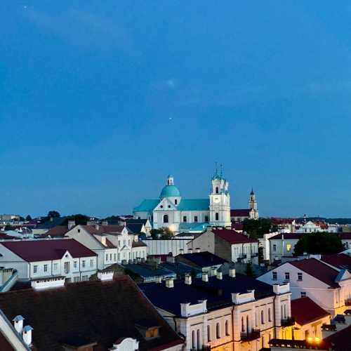 Вид на ул. Советская Гродно.<br/> Старый город