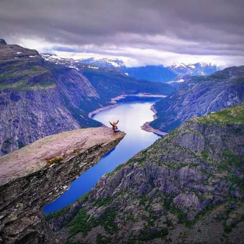Язык Тролля(Trolltunga), Norway