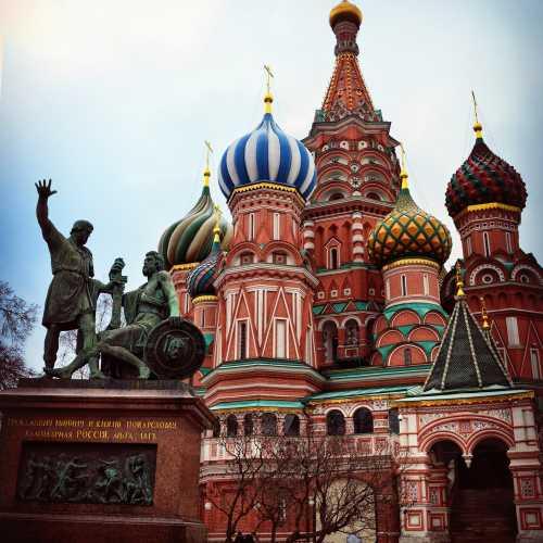 Красная площадь, Россия