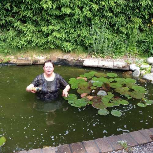 Как я упала в Стокгольме в пруд!