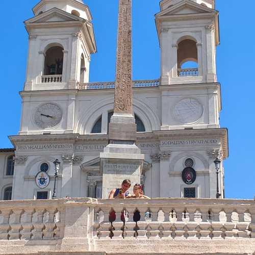 Испанская лестница, Италия