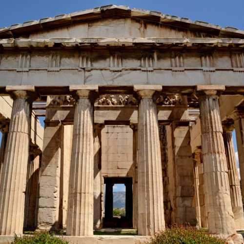 Храм Гефеста, Греция