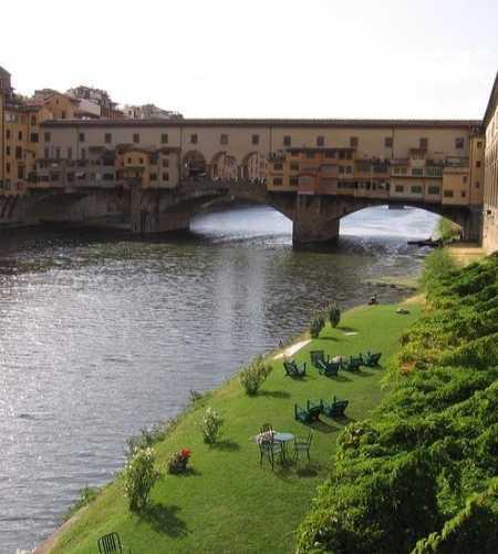 знаменитый мост Флоренции