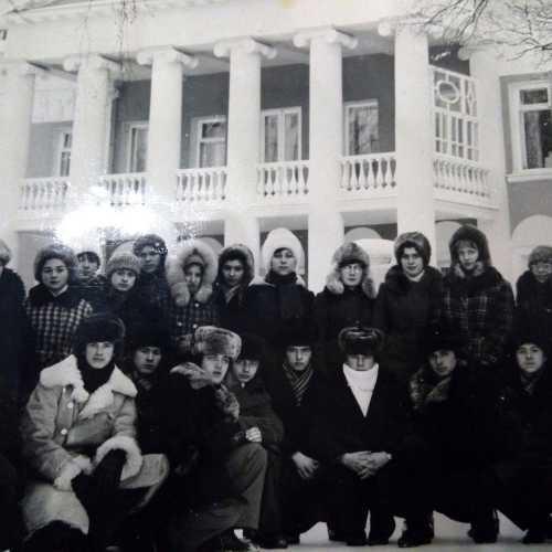 Ленинские горки, Москва -1979