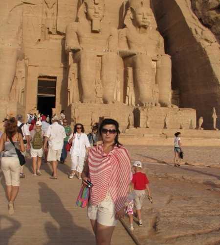 вход в храм Рамзеса