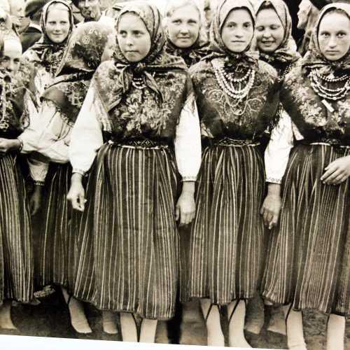Женщины малой народности — кихну