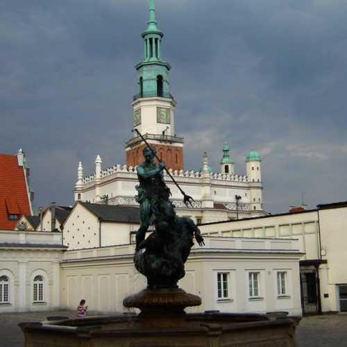 5 ліпеня 2005 года Познань. Цэнтральная плошча (рынок)