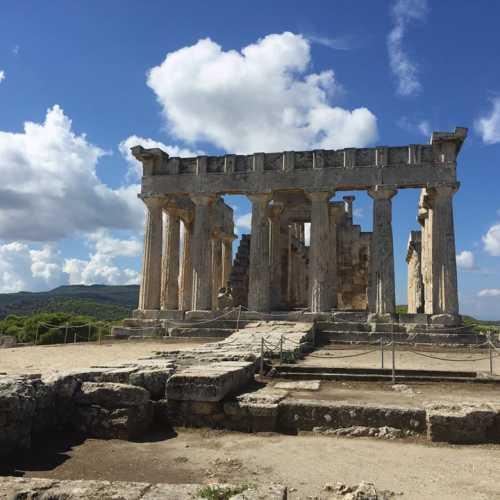 Greece, Attiki, Aigina, Aigina,the Temple of Afaia<br/> Греция, о. Эгина, Храм Афины Афайи (Невидимой)