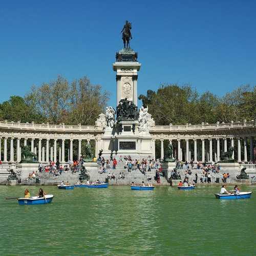 Buen Retiro Park, Spain