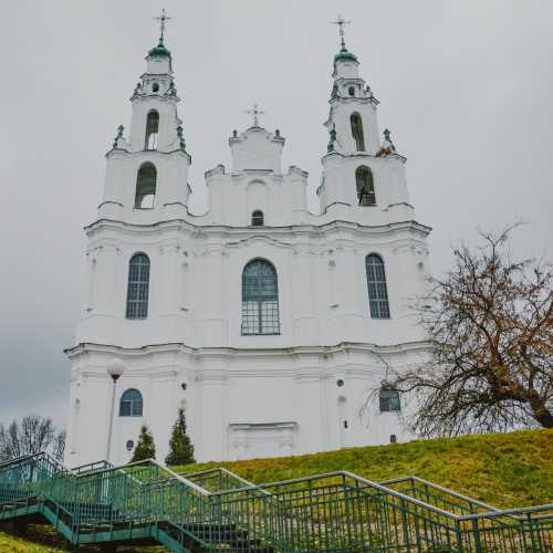 Saint Sophia Cathedral in Polotsk, Belarus