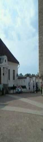 Двор замка епископа