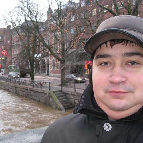 Селфи в Уппсале. (04.01.2012)