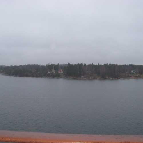 Окрестности Стокгольма. Вид с парома. (02.01.2012)