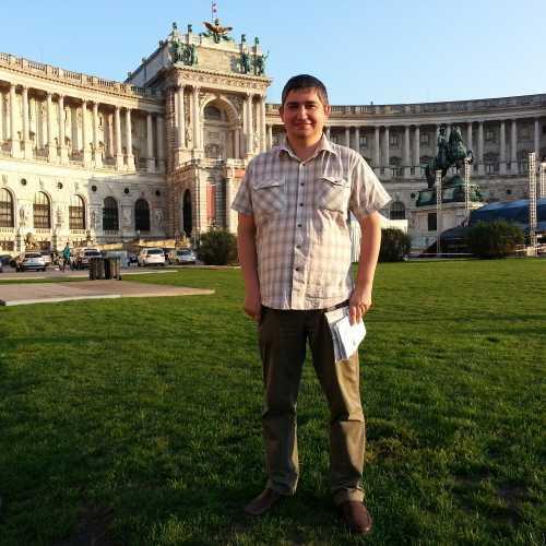 Вена. Я в Хофбурге. (17.09.2014)