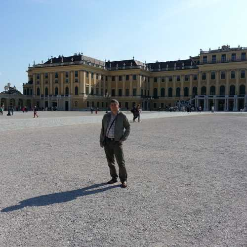 Вена. Я у Шёнбрунна. (17.09.2014)