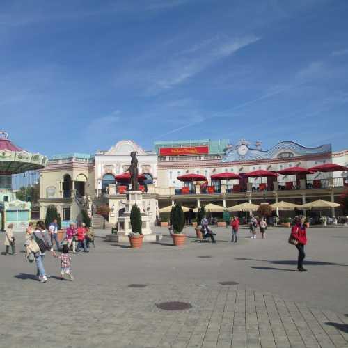 Вена. Парк Пратер. (18.09.2014)