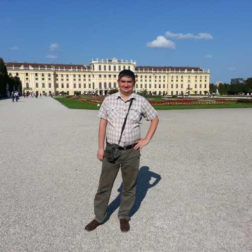 Вена. Я в парке Шёнбрунн. (17.09.2014)
